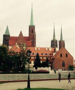 Wroclaw návštěva města a maraton